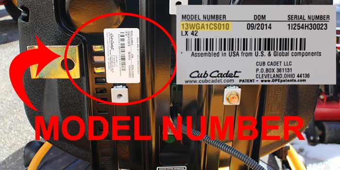 cub cadet parts buy online save cub cadet uses a factory number to identify equipment your model number like ltx1042 not lead you to the exact model its best to locate your factory