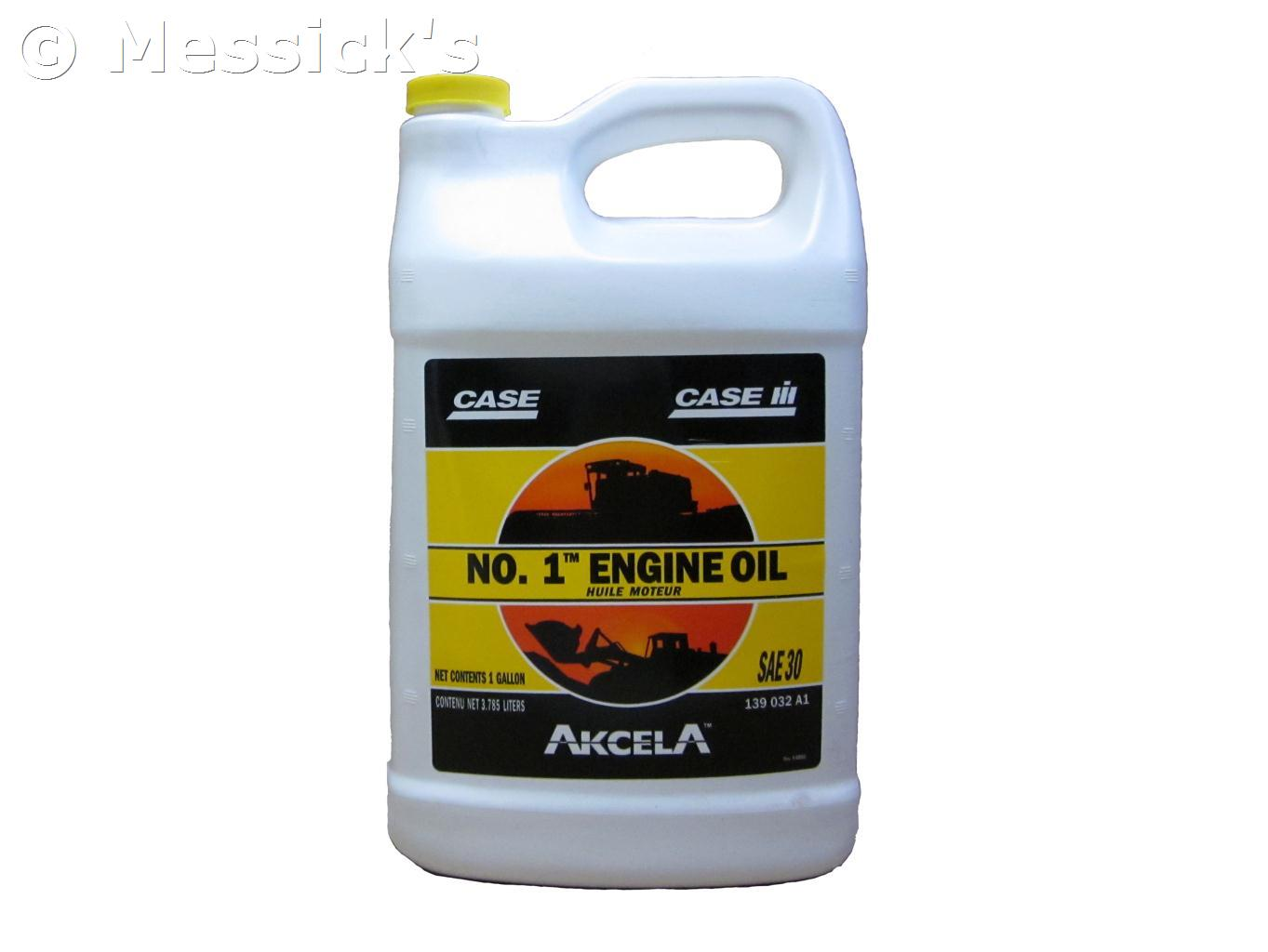 case case sae 30 engine oil 1 gal part 139032a1