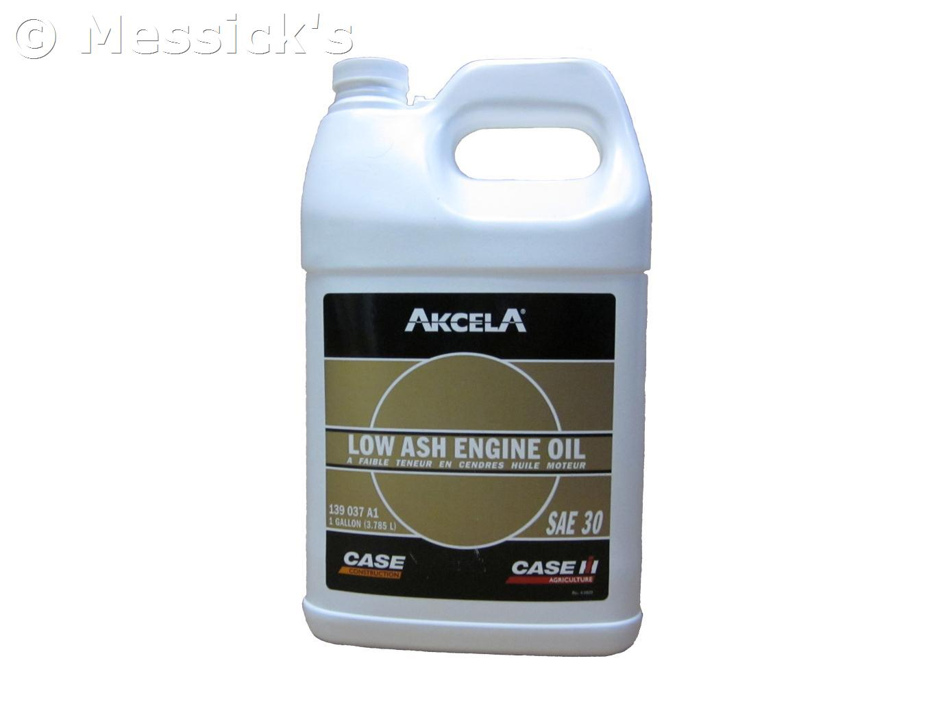 Case ih new holland case 1 gal 30w low ash oil part for Case of motor oil prices