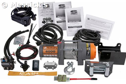 tractor supply winch wiring diagram kubota: 4000lbs winch kit, part # 77700-v5244