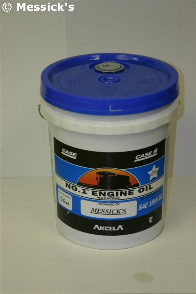 Case ih new holland 5gal 10w 30 engine oil part for Case of motor oil prices