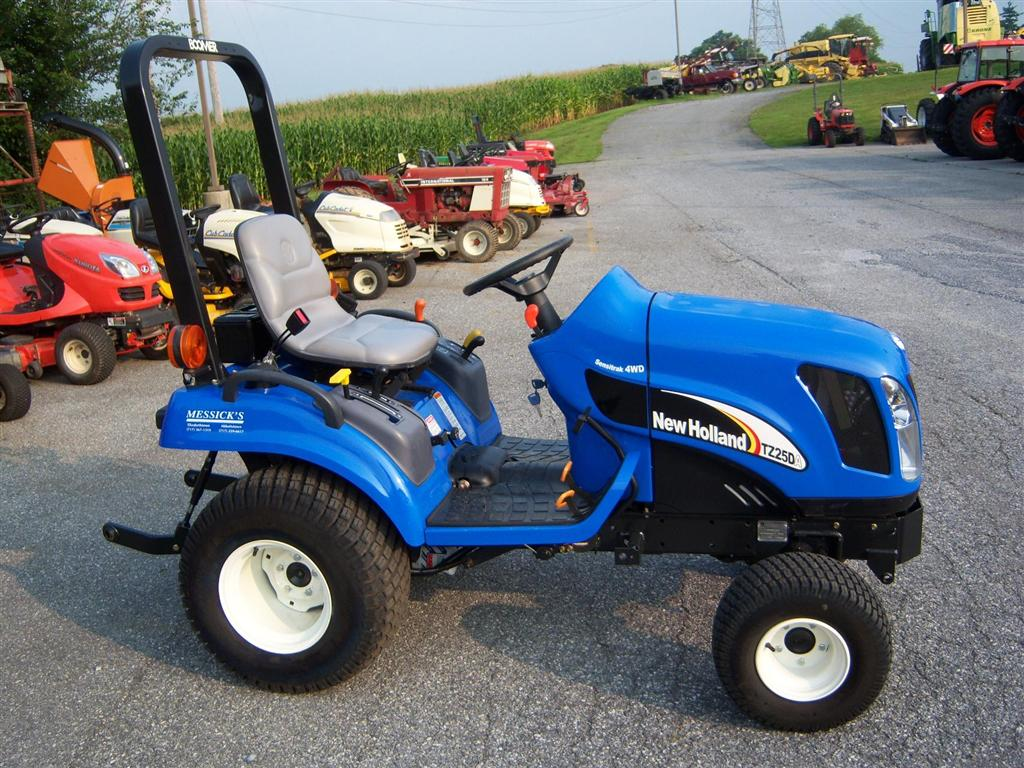 Used New Holland Tz25