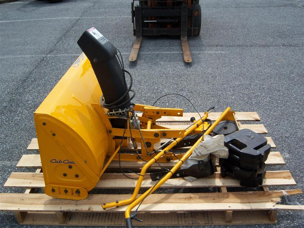 Cub Cadet Rear Weights : Used cub cadet