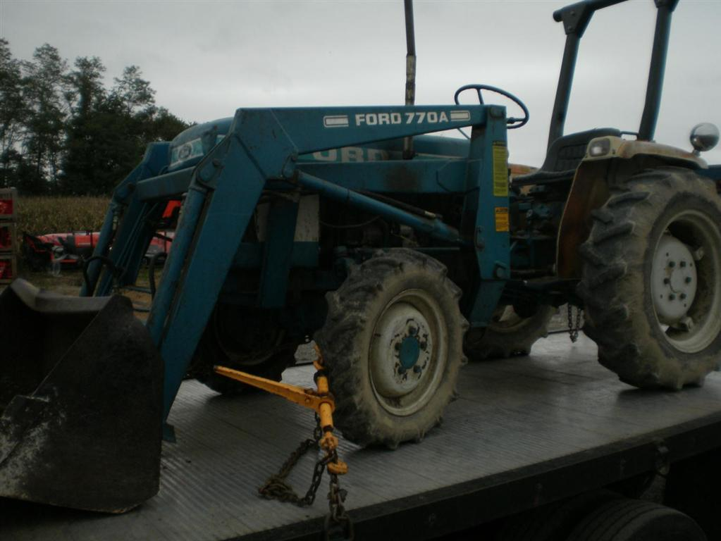 Ford 1710 Loader : Used ford