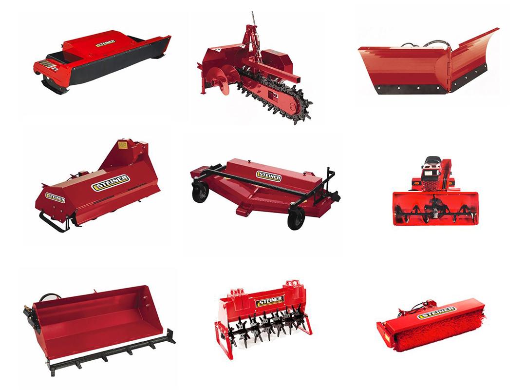 Steiner Tractors & Attachments