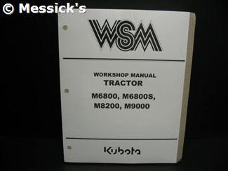 Kubota m5400 Manual