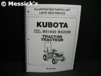 BX1830D/BX2230 Parts M..