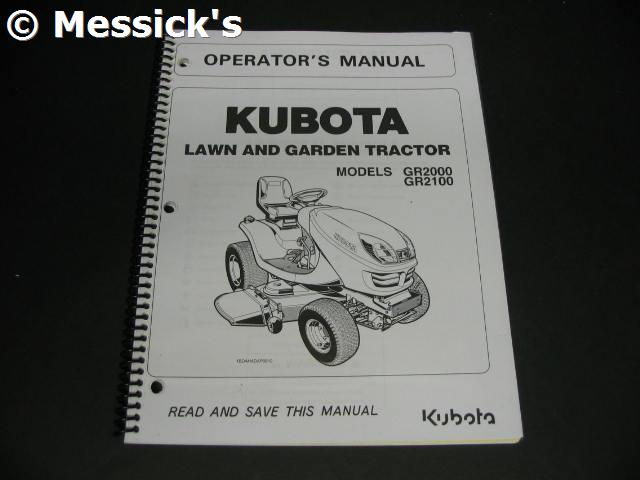 Terrific Kubota Gr2100 Owners Manual Wiring 101 Mecadwellnesstrialsorg
