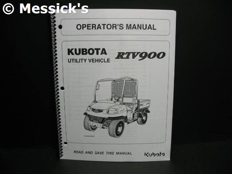 kubota rtv 900 fuse box    kubota    rtv900 owners manual  part k7561 71217     kubota    rtv900 owners manual  part k7561 71217