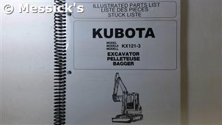 KX121-3 Parts Manual