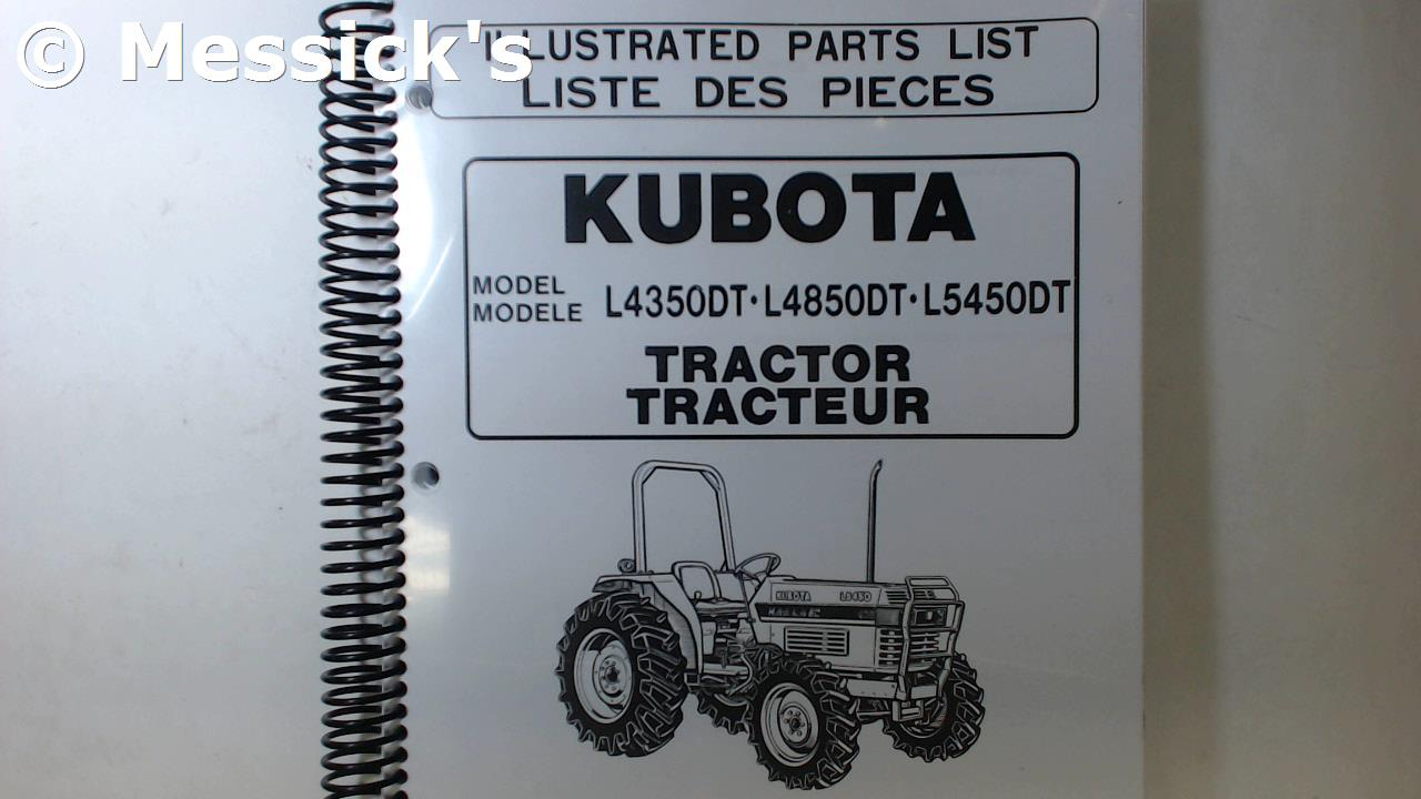 L3000 Kubota Tractor Wiring Harness B7510 Case L Series Parts Catalogs On Manual