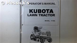 T1760 Owners Manual