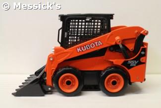 1:24 Kubota SSV65 Skid Steer Loader Die Cast Toy