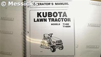 Kubota T1600 Hst Manual
