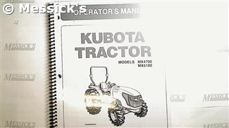 [SCHEMATICS_4HG]  Kubota: MX4700 MX5100 Operators Manual, Part # TC250-19717 | Kubota Mx5100 Wiring Diagram |  | Messicks