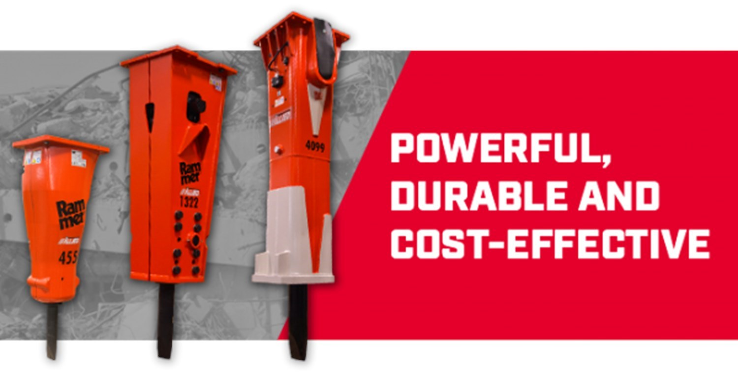 ALLIED CP RAMMER HYDRAULIC IMPACT HAMMERS