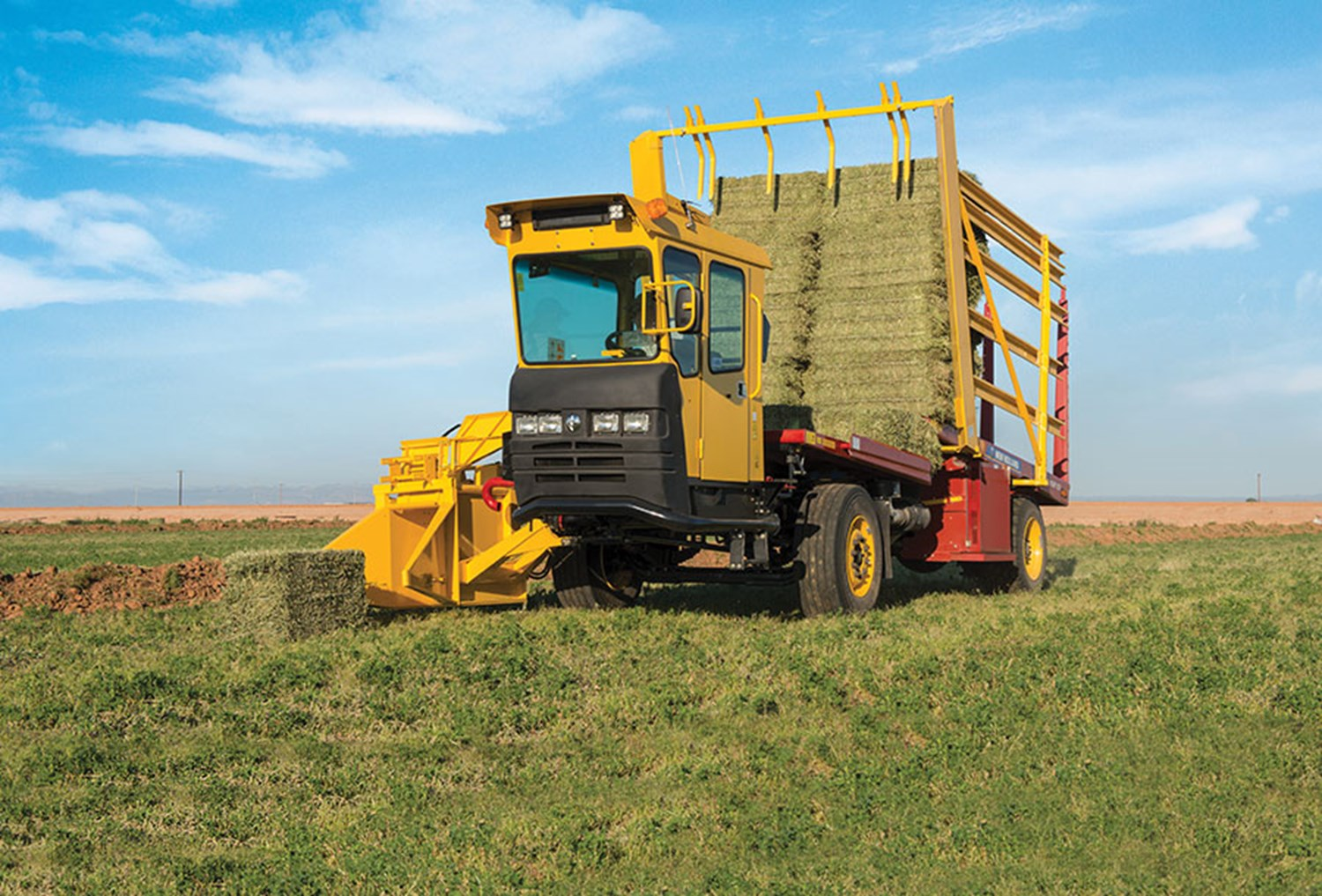NEW HOLLAND SP BALE WAGON SERIES