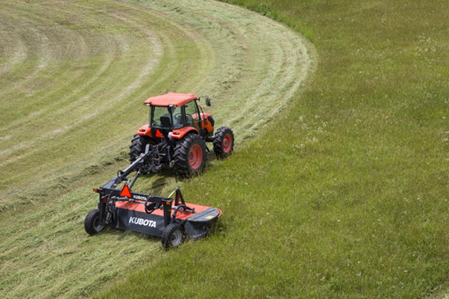 KUBOTA DM5000 SERIES TRAILED DISC MOWERS
