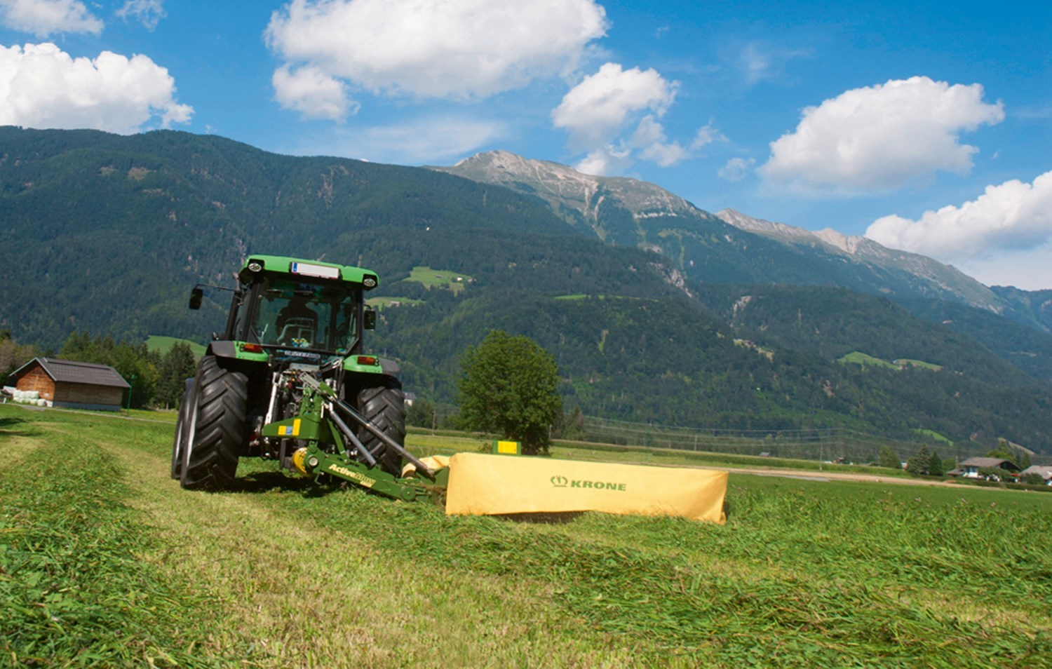 KRONE REAR-MOUNTED DISC MOWERS ACTIVEMOW SERIES