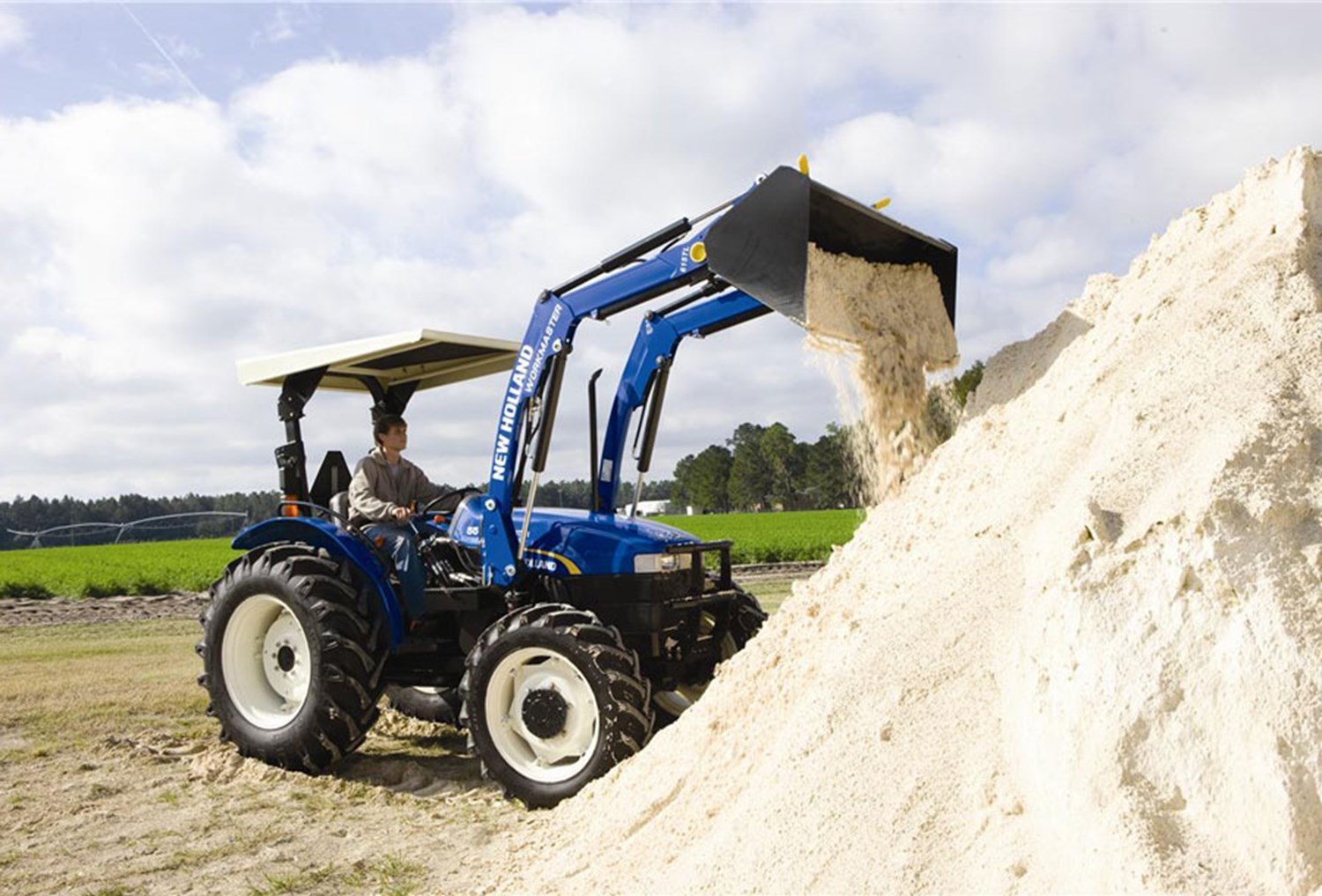 NEW HOLLAND WORKMASTER 55 2WD