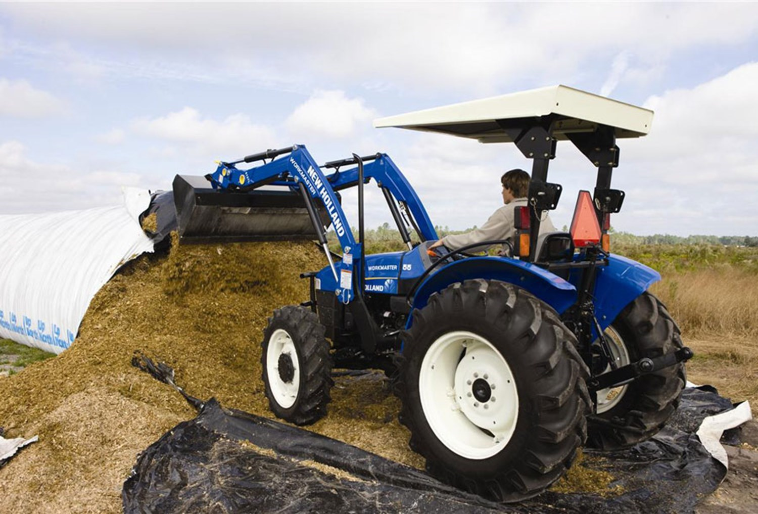 NEW HOLLAND WORKMASTER 55 4WD