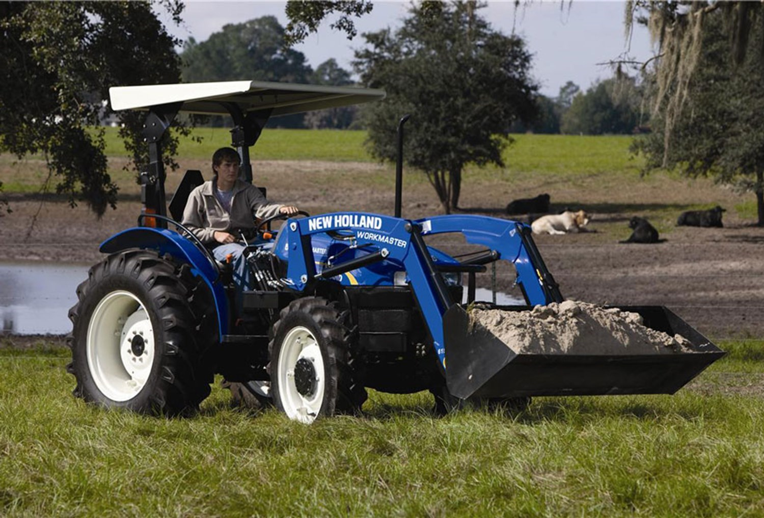 NEW HOLLAND WORKMASTER 45 4WD