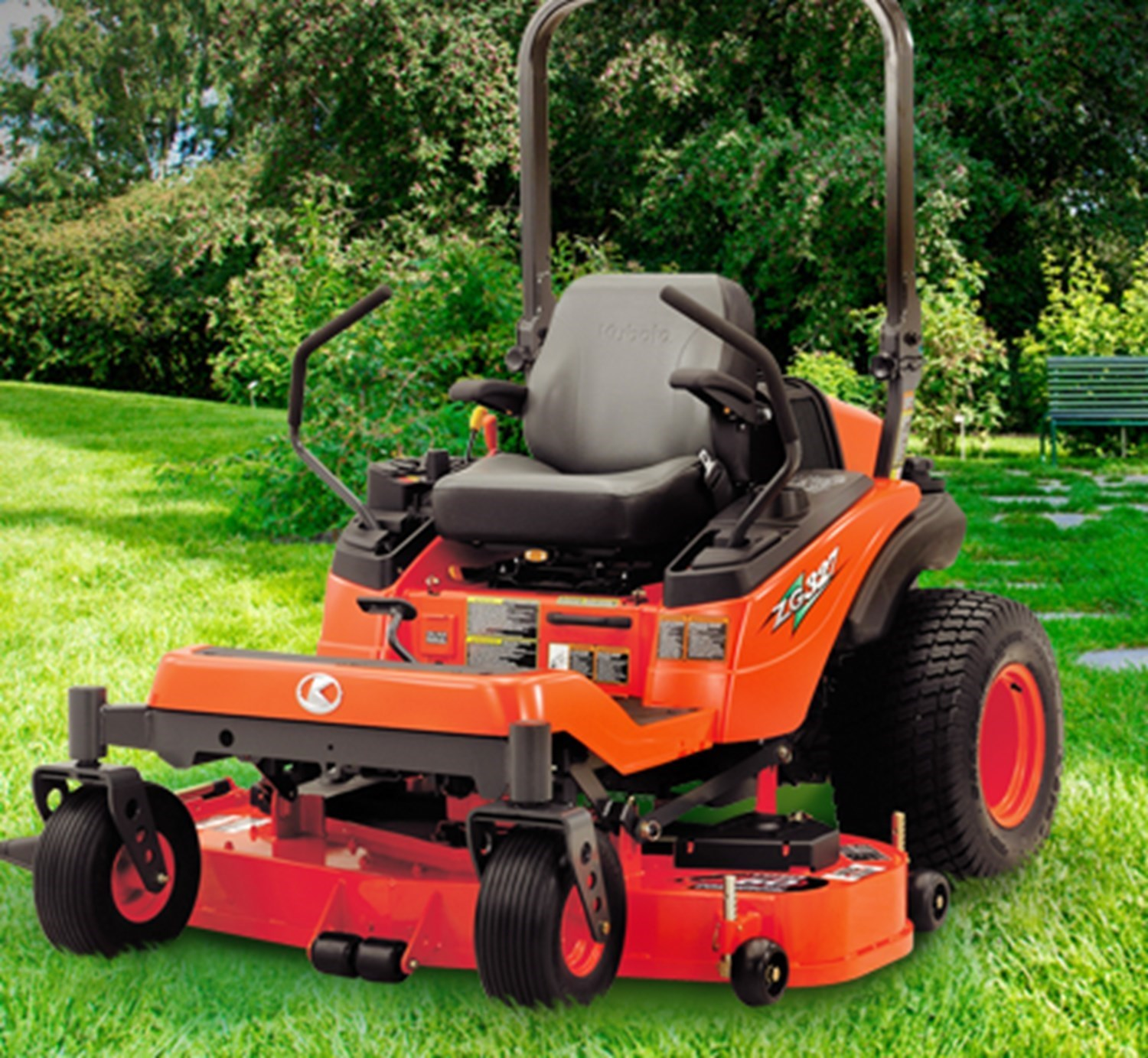 Kubota Z300 Series Zero Turn Mowers