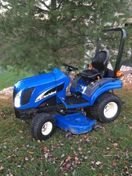 NEW HOLLAND TZ18DA
