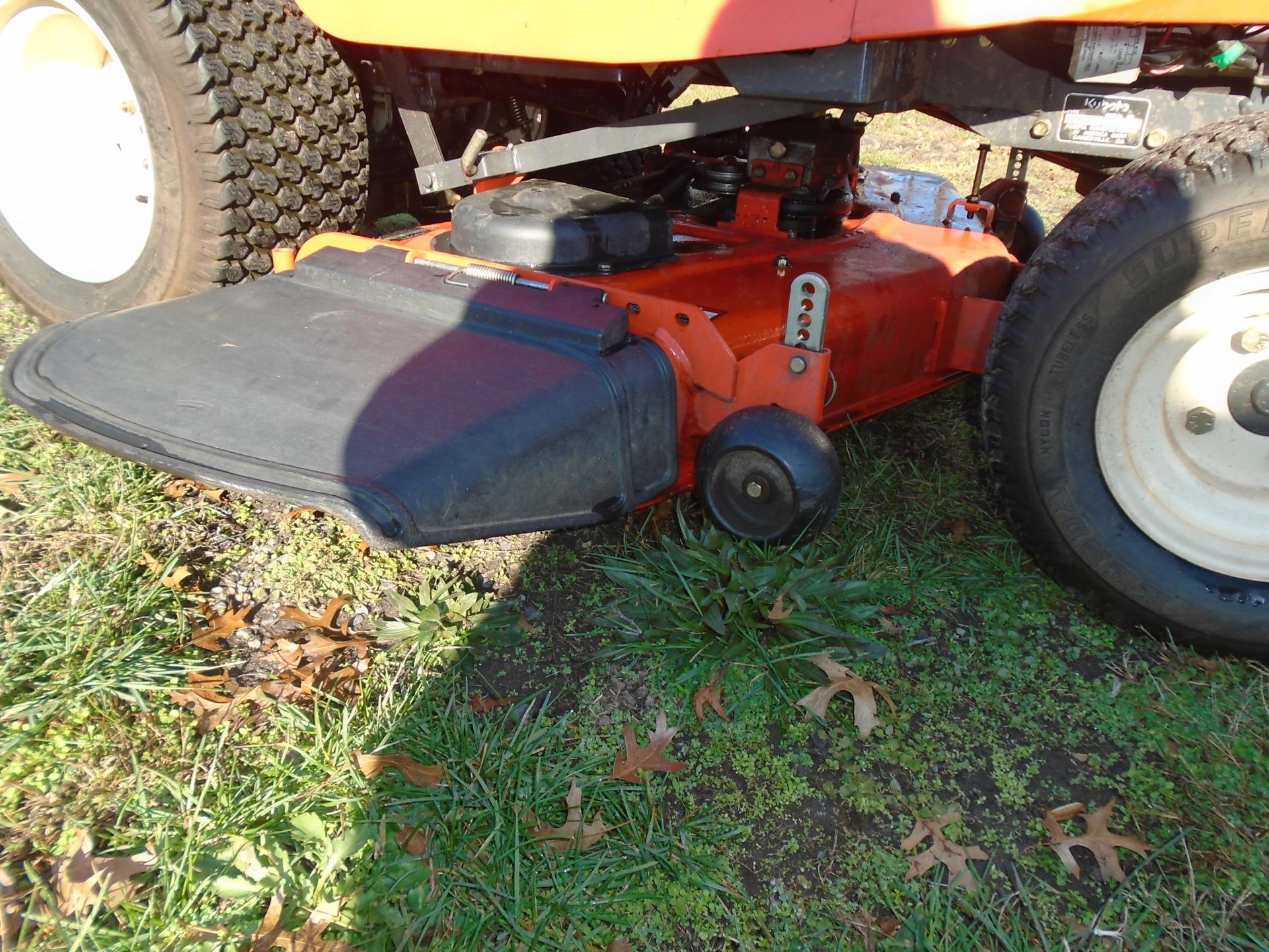 Used KUBOTA GR2010G48 $2,995.00