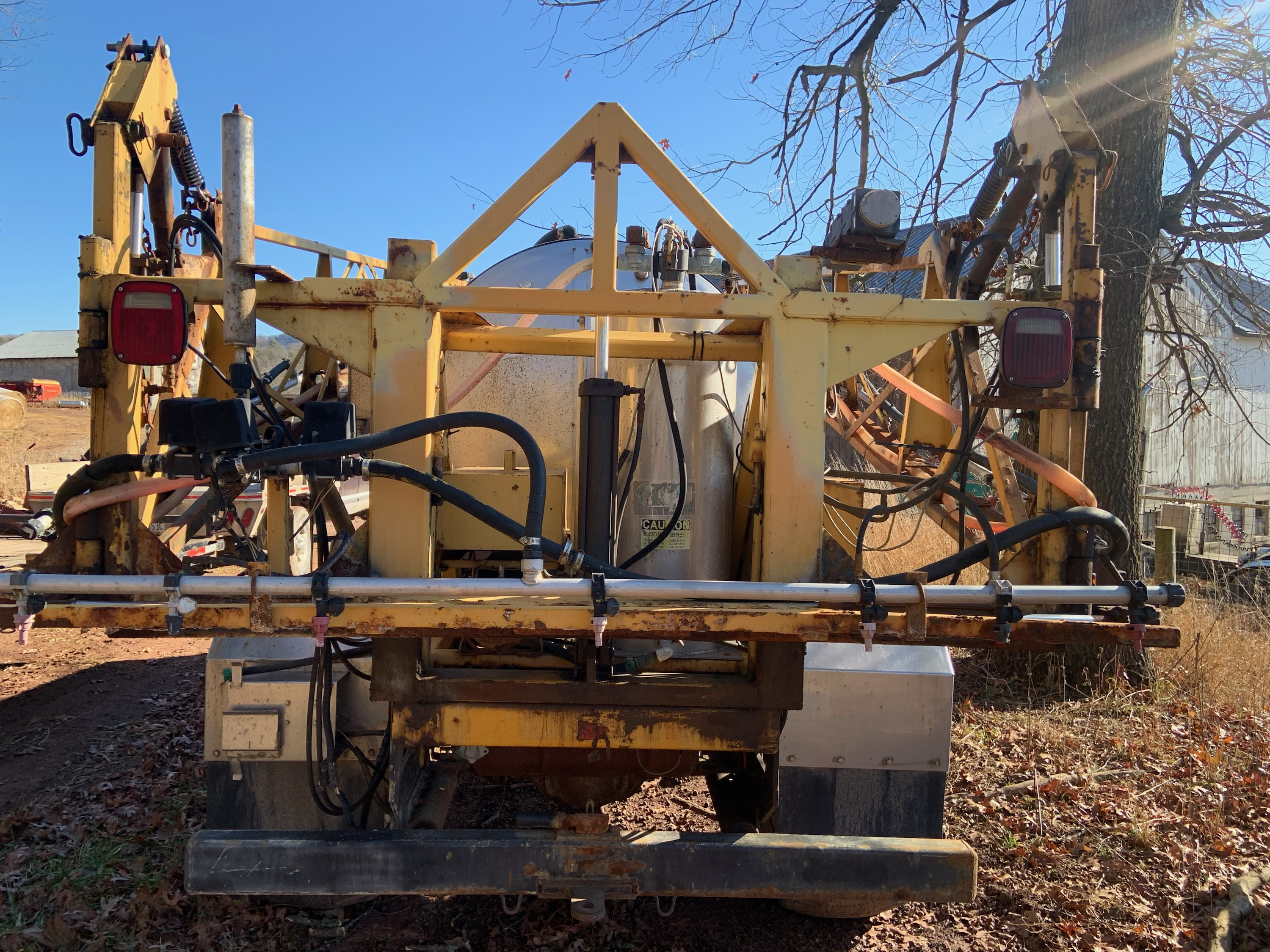 Used GVM TRUCK SPRAYER $7,500.00