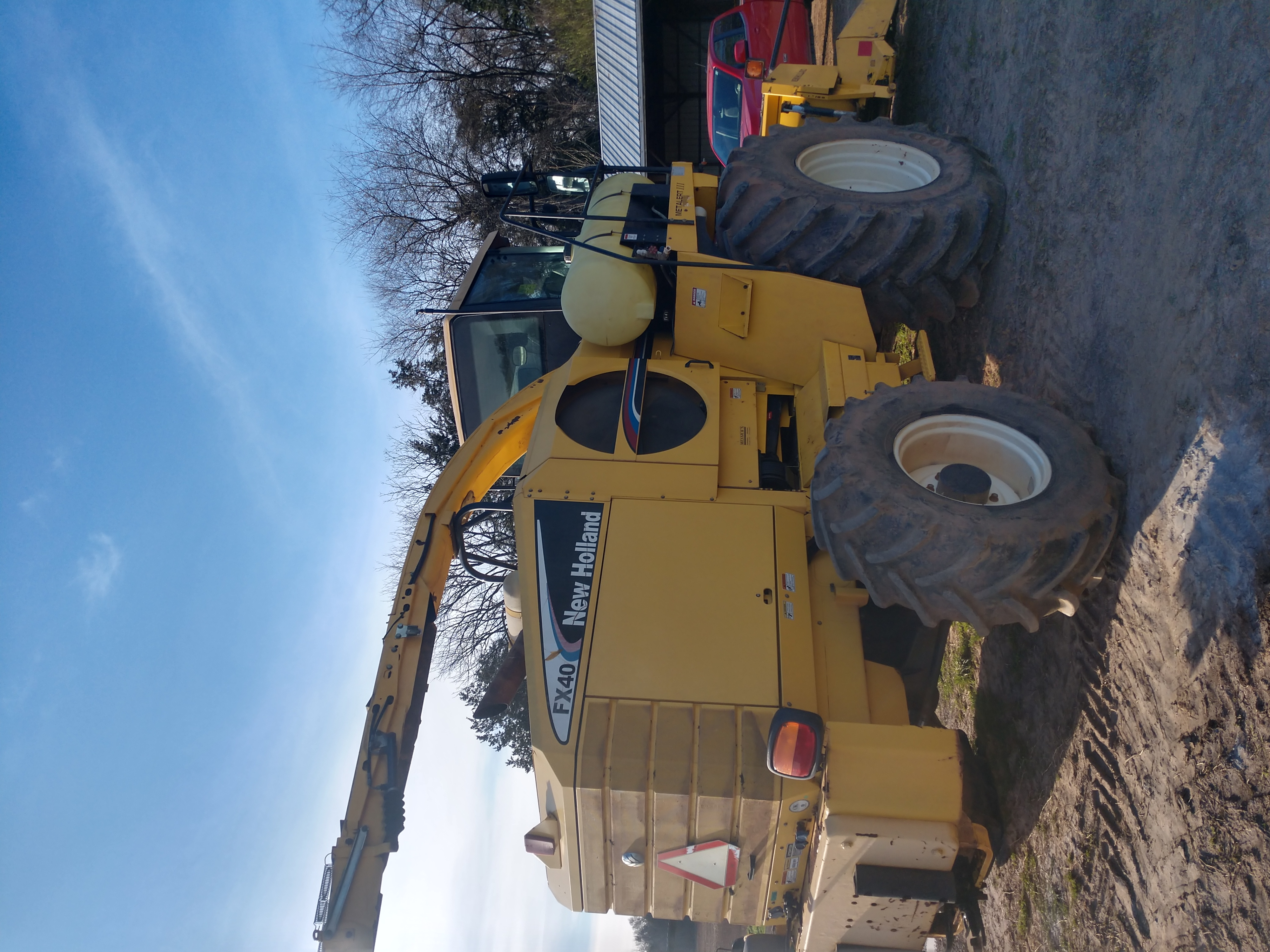 Used NEW HOLLAND FX40 $125,000.00