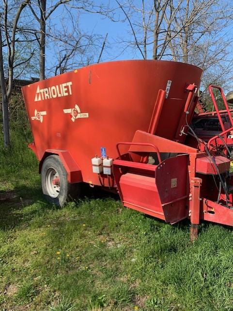 Used TRIOLIET SOLOMIX 2-1200L $10,900.00