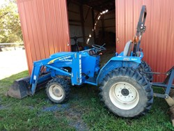 New Holland T1520 used picture