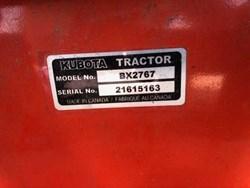 KUBOTA BX2767