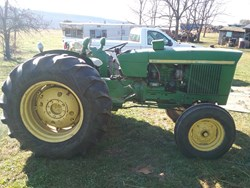 John Deere 1520 used picture