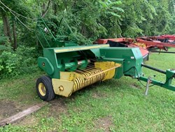 John Deere 327 used picture