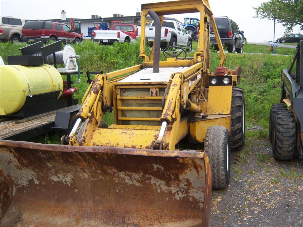 International 3500a Backhoe manual